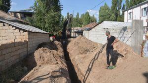 Patnos'ta Altyapısı Olmayan Mahallenin Kanalizasyon İhtiyacı Giderildi