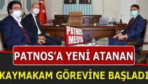 Patnos'a Yeni Atanan Kaymakam, Görevine Başladı