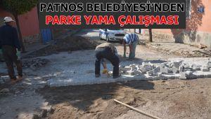 Patnos Belediyesi'nden Parke Yama Çalışması