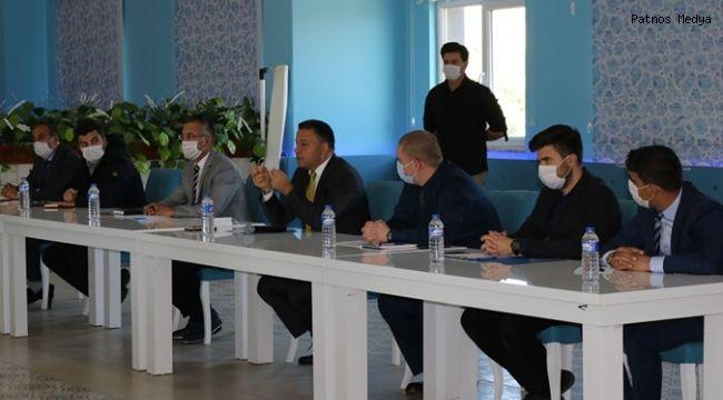Patnos Mahalle Muhtarları İle Toplantı