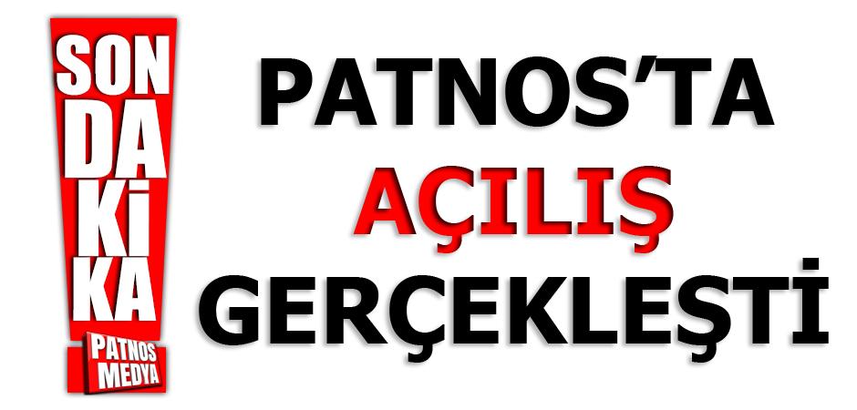 Patnos'ta Açılış Gerçekleşti