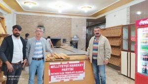 Patnos'ta Askıda Ekmek Kampanyası