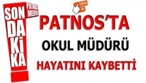 Patnos'ta Okul Müdür'üHayatını Kaybetti!