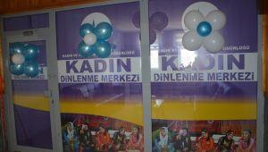 Patnos Belediyesi Kadın Dinleme Evi hizmete açıldı.
