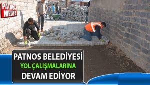Patnos'ta Kilit Parke Taşı Çalışmaları Devam Ediyor