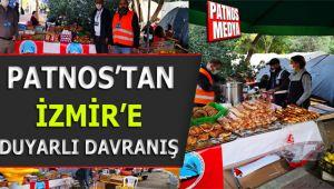 PATNOS'TAN İZMİR'E DUYARLI DAVRANIŞ