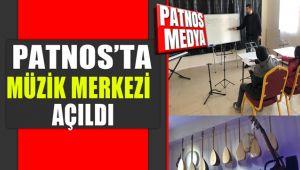 PATNOS'TA MAJÖR MÜZİK MERKEZİ AÇILDI