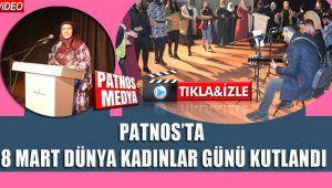 Patnos'ta 8 Mart Dünya Kadınlar Günü Kutlandı