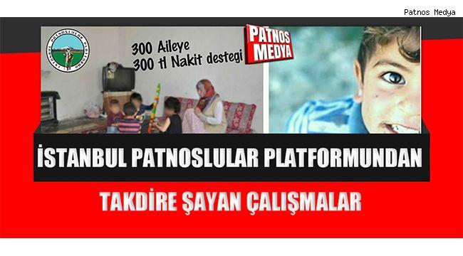 İstanbul Patnoslular Platformundan Takdire Şayan Çalışmalar