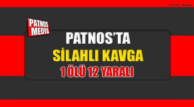 Patnos'ta İftar Saatinde iki aile arasında arazi kavgası: 1 ölü, 12 yaralı