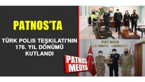 PATNOS'TA POLİS HAFTASI ETKİNLİKLERLE KUTLANDI