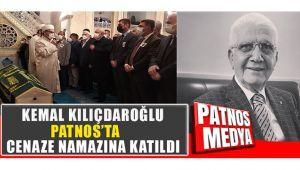CHP Genel Başkanı Kılıçdaroğlu, Patnos'ta Cenaze Namazına Katıldı.