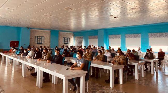 Patnos'ta 2021 LGS Bilgilendirme Toplantısı