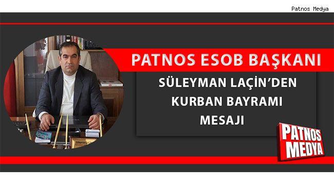 Başkan Laçin'den Kurban Bayramı mesajı