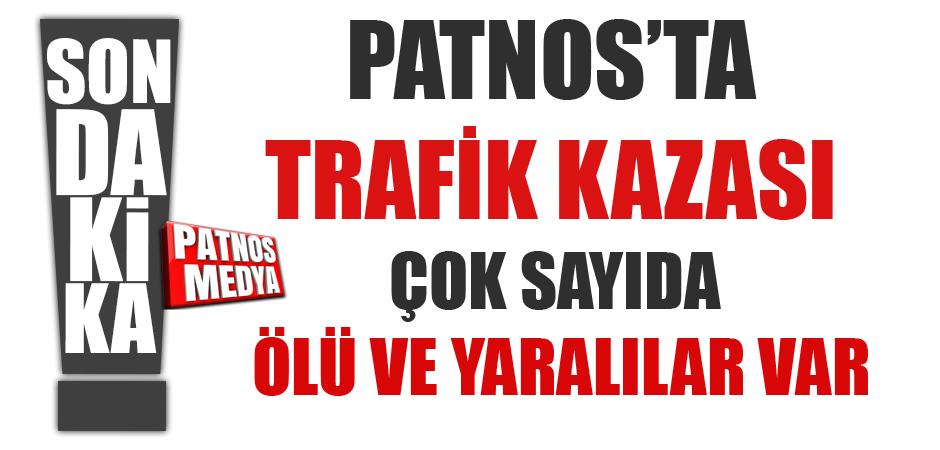 PATNOS'TA KONTROLDEN ÇIKAN ARAÇ DEVRİLDİ !