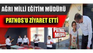 Ağrı Milli Eğitim Müdürü Patnos'u Ziyaret Etti